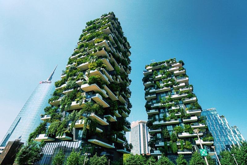 Verde tecnologico i prati naturali crescono sui palazzi for Palazzi davvero grandi